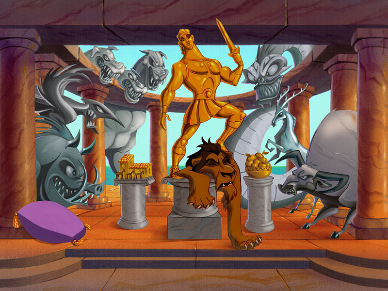 Hercules Game Art